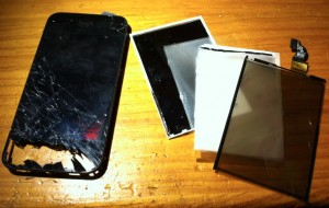 Broken iPhone4 Display