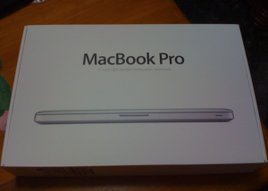 Exterior caja MacBook Pro