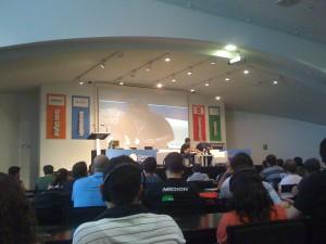 Steve Wozniak en la conferencia de la CP2010