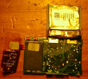 Detalle de la memoria Flash