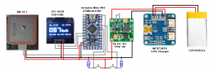 Tiny GPS schematic